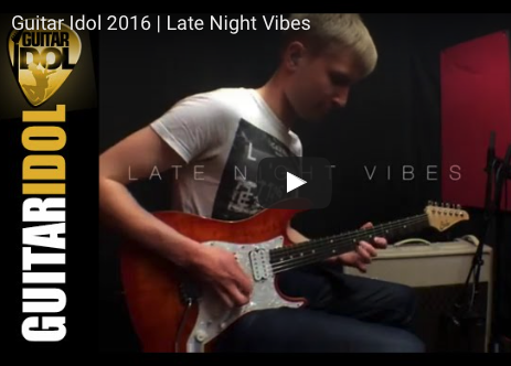 GUITAR IDOL 2016 phil short